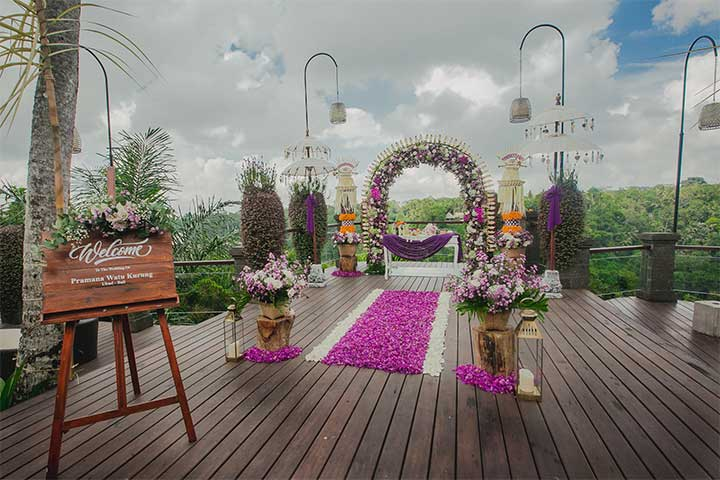 Wedding at Pramana Watu Kurung